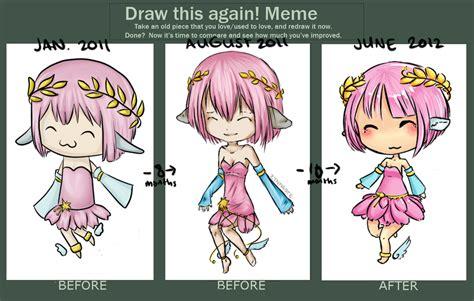 Draw This Again Meme Fail - draw this again meme by zynneste on deviantart