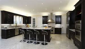 Traditional dark brown cabinet light gray kitchen cabinets for Kitchen colors with white cabinets with large vinyl wall art