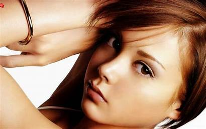Japanese Wallpapers Woman Faces Models