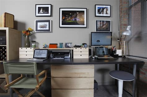 bureau decoration reworking the home office with a dash of ikea lifehacker