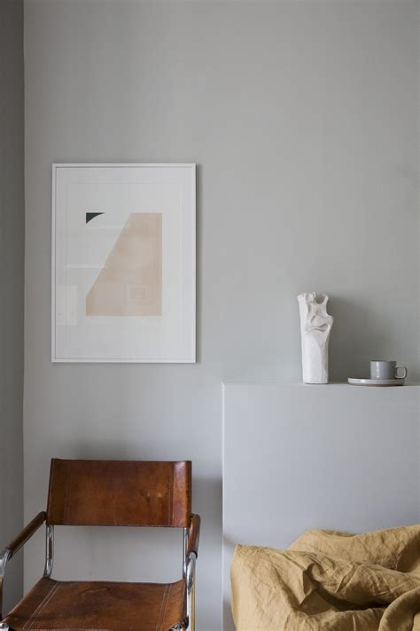 grey bedroom with warm accents colors coco lapine