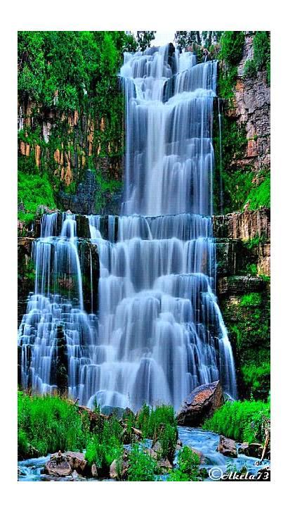 Nature Waterfall Animated Re