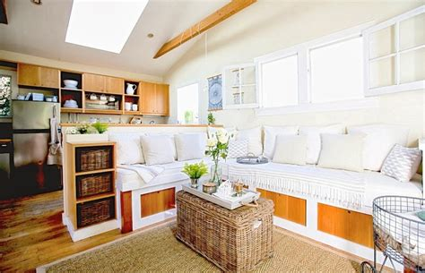 Super Small Living  A Genius 350 Square Foot Beach