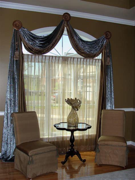custom window treatments 2017 - Grasscloth Wallpaper