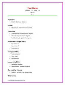 basic resume exles for highschool students doc 745959 high resume template no work experience bizdoska com