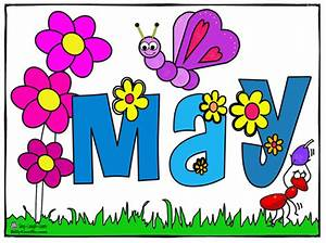 Month Of May Clip Art - Cliparts.co