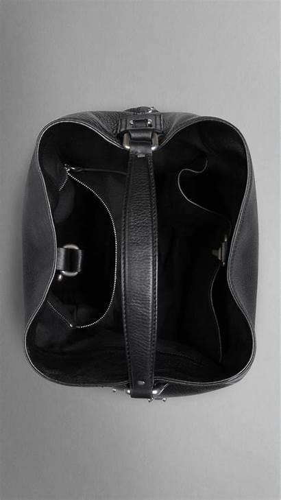 Hobo Leather Bag Burberry Studded Medium Bags