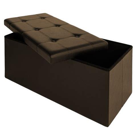 coffre siege rangement tabouret banc avec coffre boîte de rangement siège 80x40x38cm m