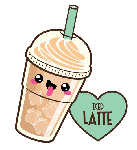 kawaii clipart coffee clipart kawaii pencil and in color coffee clipart
