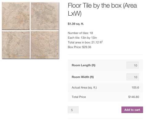 floor tile quantity calculator measurement price calculator woocommerce