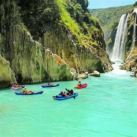 Cascada Tamul San Luis Potosi