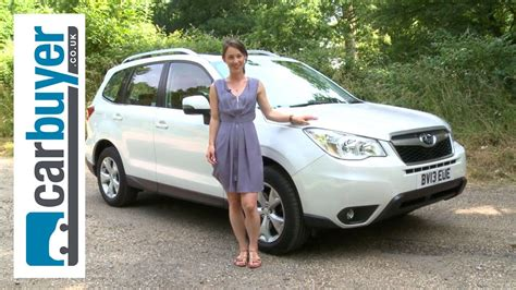 subaru forester suv  review carbuyer youtube
