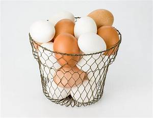 Egg basket with eggs ~ Food & Drink Photos on Creative Market