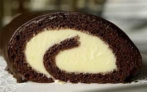 Chocolate Ice Cream Cake Roll