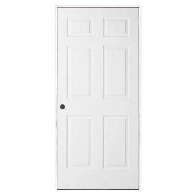 6 Panel Interior Doors Home Depot by Jeld Wen Woodgrain 6 Panel Primed Molded Single Prehung