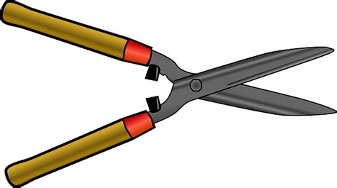 hedg clippers tool shear  vector graphic  pixabay