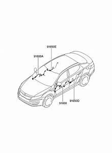 2013 Kia Optima Hybrid Door Wiring