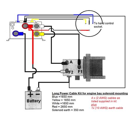 2 Solenoid Winch Wiring Diagram by Winch Wiring Kit