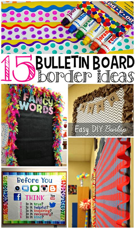 border decoration ideas 14 stunning classroom decorating ideas to make your classroom sparkle teach junkie