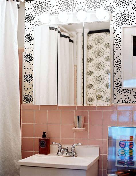 Pink Bathroom Wall Decor by 24 Mid Century Modern Interior Decor Ideas Brit Co