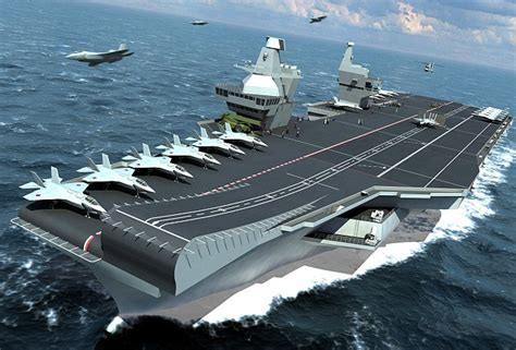 Deadly The Queen Elizabeth class aircraft carriers | Army ...