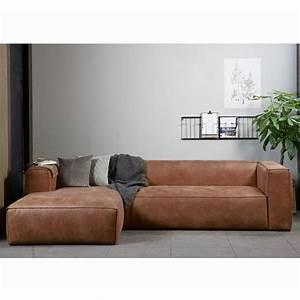 Couch Leder Cognac : eckgarnitur bean leder cognac couch polster sofa ecksofa longchair links mareimi pinterest ~ Markanthonyermac.com Haus und Dekorationen