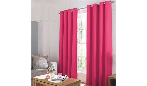 george home pink plain dye curtains curtains george at