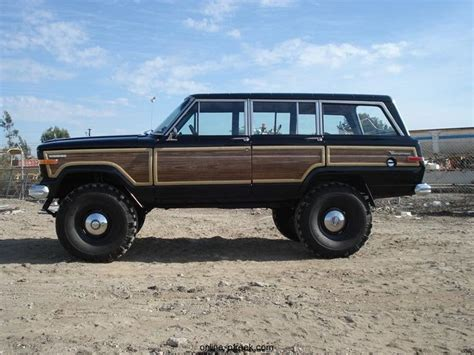 wagoneer jeep lifted lifted jeep wagoneer adrenaline capsules pinterest