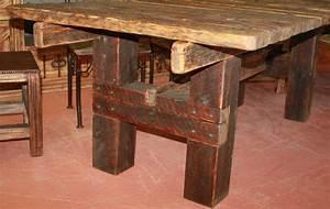 Barnwood Dining Table @ Durango Trail Rustic Furniture