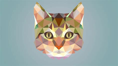 Polygon Animal Wallpaper - polygon wallpapers hd backgrounds images pics photos