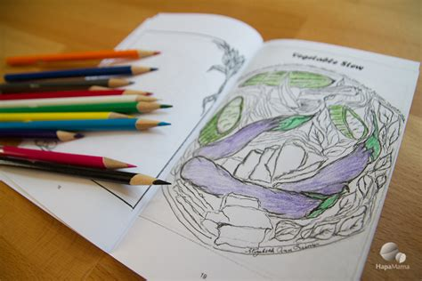 color  cook filipino food coloring book hapamama