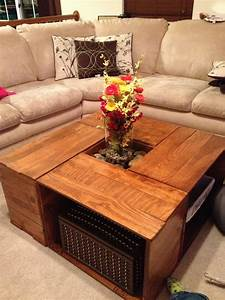 Crate, Coffee, Table, 4, Steps, With, Pictures