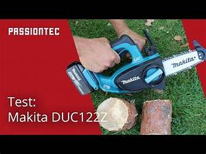 Test Akku Kettensäge : makita akku kettens ge duc122z youtube ~ Buech-reservation.com Haus und Dekorationen