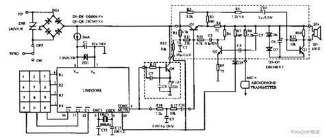 Modern Telephone Wiring Diagram by Um95088 Telephone Circuit Diagram Telephone Related