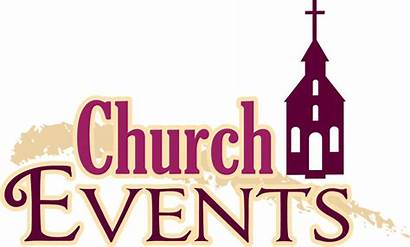 Church Clipart Events Newsletter Calendar Parish Worship
