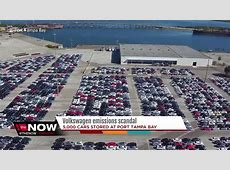 Thousands of recalled VW cars sitting in Tampa YouTube