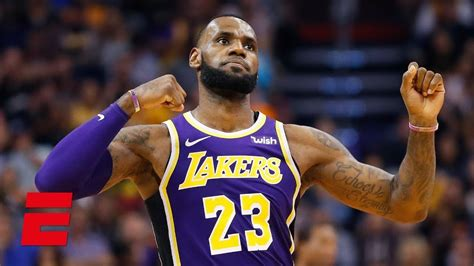 lebron james leads  los angeles lakers