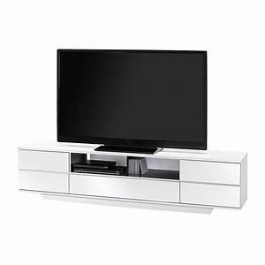 Tv Eckschrank Weiß : tv bank rabiya wei hochglanz schwarz hochglanz ~ Markanthonyermac.com Haus und Dekorationen