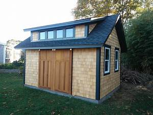 Garden Shed with Sliding Barn Doors - Craftsman - Shed