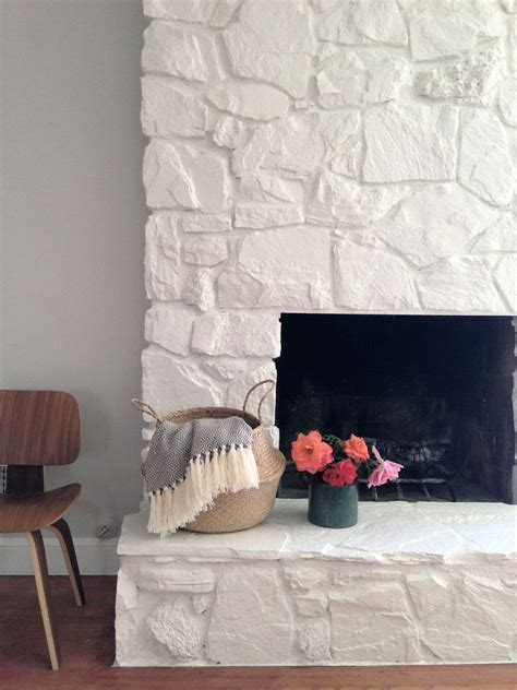 how to painting the fireplace white in 2018 diy