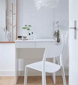 Coiffeuse Blanche Ikea : 17 migliori idee su accessori per camera da letto su pinterest accessori da camera specchio ~ Teatrodelosmanantiales.com Idées de Décoration
