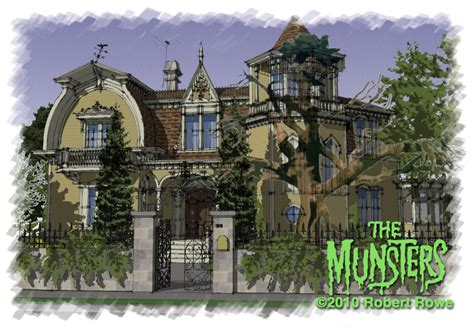munsters house dreams come true the munsters house