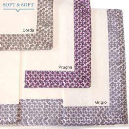 lenzuola letto matrimoniale percalle  puro cotone vendita  sofia completo softandsoft