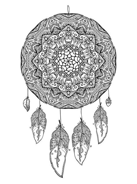Kids-n-fun.com | 16 coloring pages of Dreamcatchers
