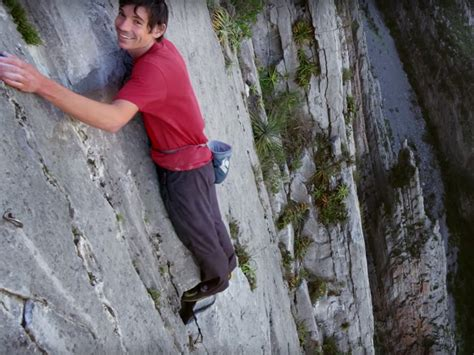 What The Brain Guy Who Climbs Massive Cliffs Without
