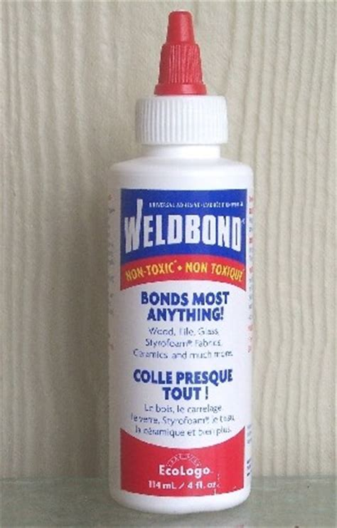 weldbond glass mosaic tile glue adhesive 4 oz