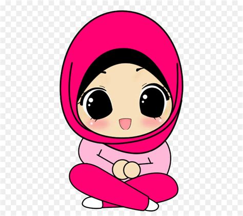 hijab cartoon drawing muslim islam muslim png    transparent png