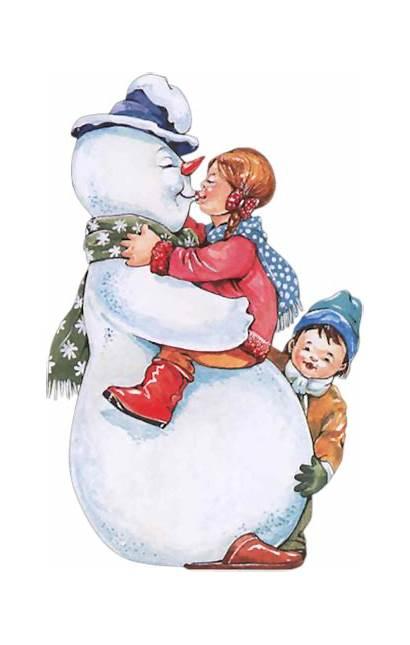 Neige Tubes Winter Bonhomme Snowman Psp Noel