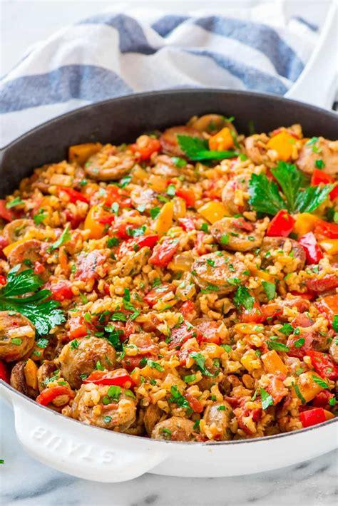 sauge cuisine sausage and rice casserole