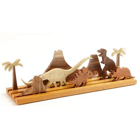 scrollsaw dinosaur puzzle woodworking plan  wood magazine